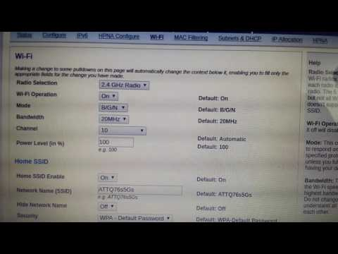 U-verse At&t How To Increase Download Speed WiFi From 1 To 20 mbps Very Simple