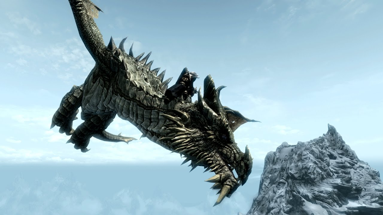 Girl And Boy Shadow Wallpaper How To Ride A Dragon Skyrim Remastered Player1 Youtube