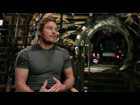 "Guardians of the Galaxy Vol. 2: Chris Pratt ""Peter Quill"" Behind the Scenes Movie Interview"