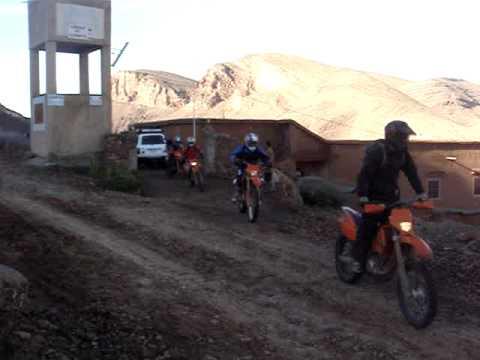 auberge pied du siroua Moto Aventure Maroc