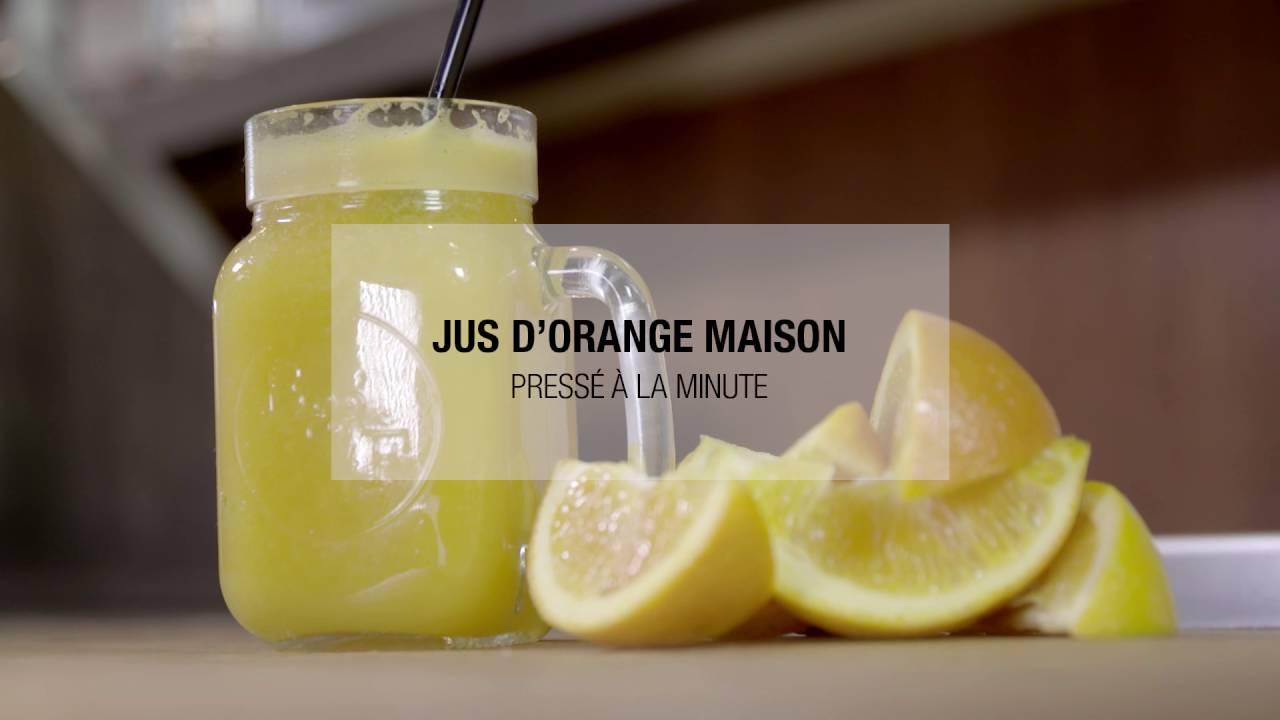 Jus D Orange Maison Presse A La Minute Youtube