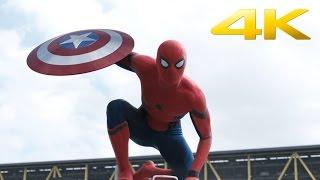 Первый мститель: Противостояние - второй трейлер (2016) 4K ULTRA HD (Дублированный)