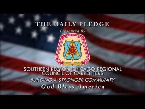 "Mrs. Kinkelaar 1st Grade WANDtv ""Daily Pledge of Allegiance"""
