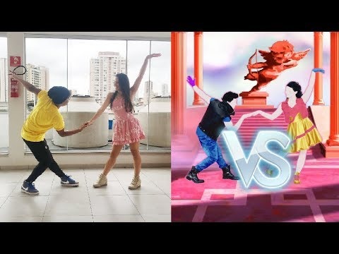 Just Dance 4 - Call Me Maybe (Winner) vs Beauty And A Beat | Battle