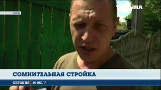 Сомнительная стройка. В Суммах скандал из-за мемориала славы погибшим на Донбассе