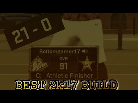 BEST 2k17 Build !!