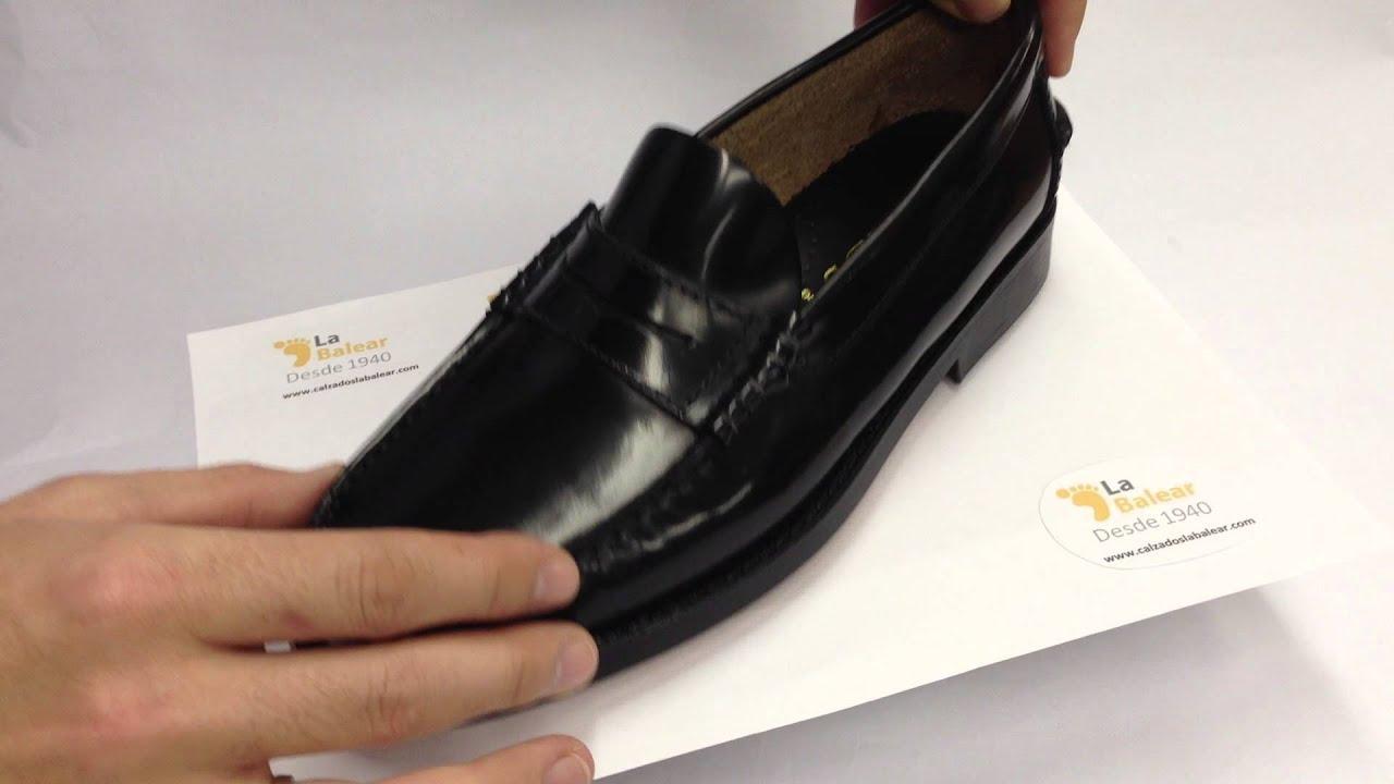 Zapato sin cordones pala lisa muy ancho Grimmaldi en negro talla 39 rcNoKZdBr