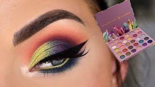 ColourPop x Kathleen Lights SO JADED Palette | Colorful Eye Makeup Tutorial