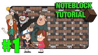 "Gravity Falls ""Theme"" - Note Block Tutorial PART 1 (Minecraft Xbox/Ps3)"