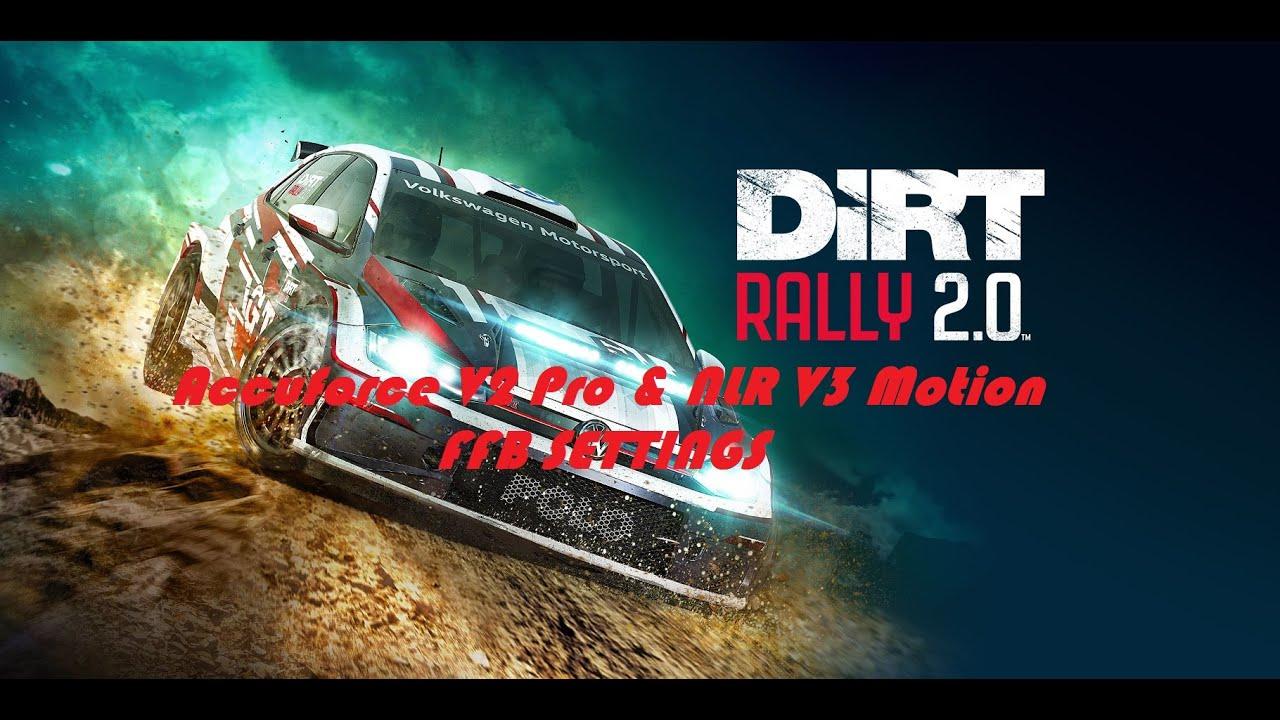 Track Junkie Racing (TJRSim): Dirt Rally 2 Accuforce V2 FFB