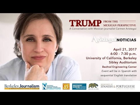 """Carmen Aristegui: """"Trump from the Mexican Perspective"""""""