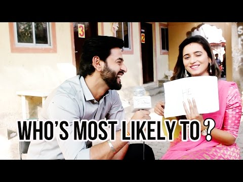 Who's most likely to? with Shivani Surve & Shashank Vyas
