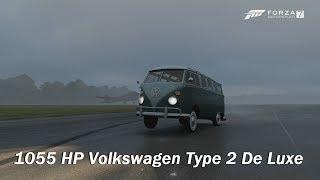 Extreme Power, No Handling - 1963 Volkswagen Type 2 De Luxe (Forza Motorsport 7)