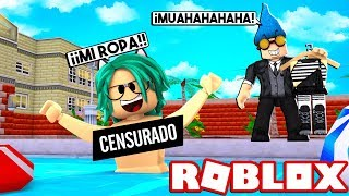 VECINO ACOSADOR ROBS LULY CLOTHING at ROBLOX 😱