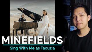 Minefields (Male Part Only - Karaoke) - Faouzia ft. John Legend