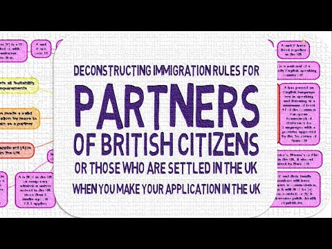 Partners of British Citizens, Visa Applications Made in the UK