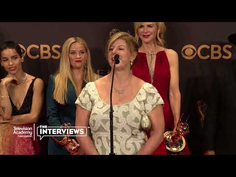 "Author Liane Moriarty on the possibility of ""Big Little Lies"" season 2— 2017 Primetime Emmys"