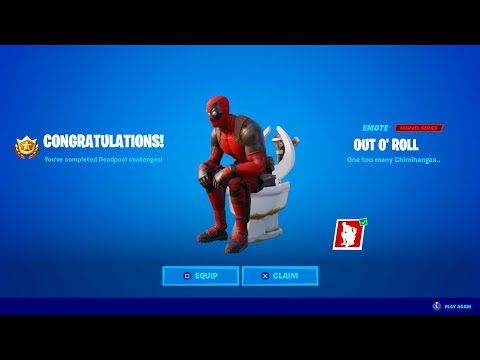CLAIM DEADPOOL'S FREE EMOTE IN FORTNITE! (NEW)