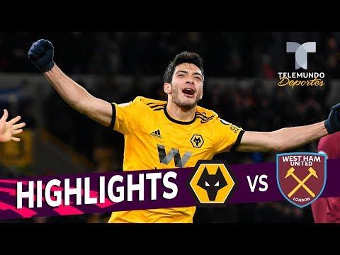 Wolverhampton vs. West Ham: 3-0 Goals & Highlights | Premier League | Telemundo Deportes