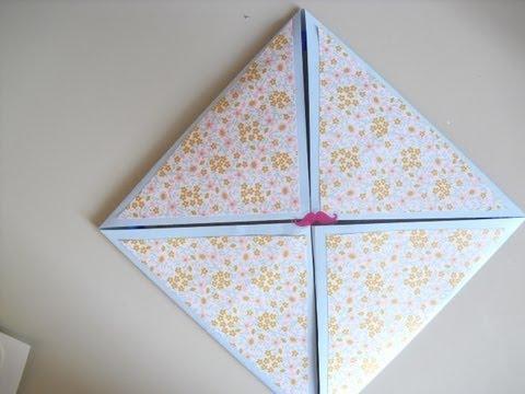 Como hacer una tarjeta para cumplea os cuadrada diy for Hacer tarjeta cumpleanos