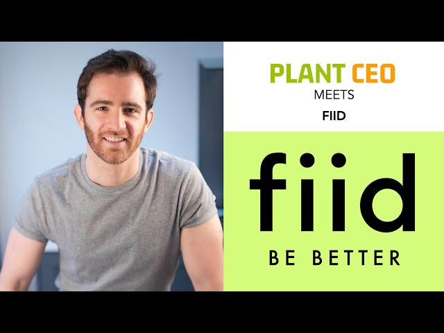 PLANT CEO #42 - Plant-based convenience food with FIID