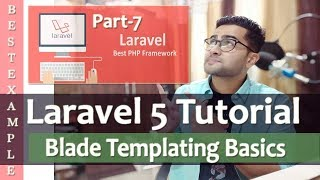 Laravel 5 Tutorial for Beginners | Blade Templating Basics | @section & @yield | Part-7 ????
