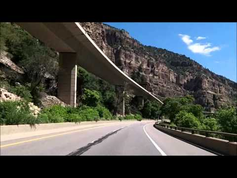 Glenwood Canyon Colorado, I-70 East
