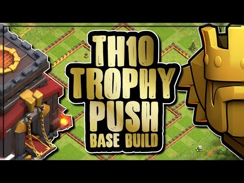 TH10 TITANS TROPHY PUSHING SPREAD BASE DESIGN | SPEED BUILD | Clash of Clans