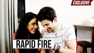 Sidhant Gupta & Jasmin Bhasin's HILARIOUS rapid fire