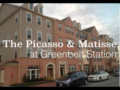Picasso & Matisse New Homes at Greenbelt Station (Video)