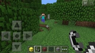 Repeat youtube video How to summon Herobrine in Minecraft Pocket Edition (NEW 0.16.0 UPDATE)!