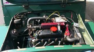 Listen to Our Austin Mini Supercharged Engine Scream