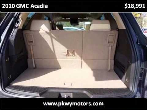 2010 gmc acadia used cars panama city fl youtube for Parkway motors panama city