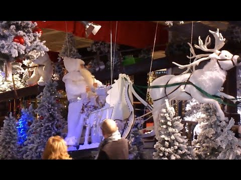 Christmas show escalator intratuin duiven 2013 roltrap for Intra tuin duiven
