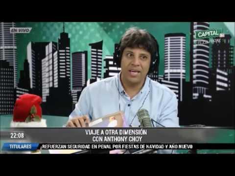 Entrevista a Luis Hu en Radio Capital por Antoni Choi