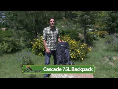 Macpac Cascade 75L Backpack - Internal Frame