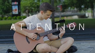Attention - Charlie Puth (Fingerstyle Guitar Cover by Vadim Kobal) FREE TABS