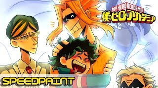 All Might Birthday |【Speedpaint】
