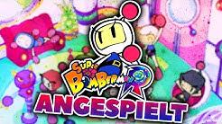 ANGESPIELT! 💣 Super Bomberman R [Deutsch / Switch]