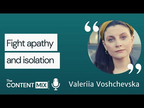 Fighting apathy and isolation – Valeriia Voshchevska   Amnesty International