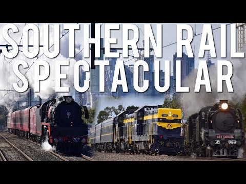 Show of true Australian muscle! (Cruise Express's Southern Rail Spectacular) | A2 986, R707 & P22