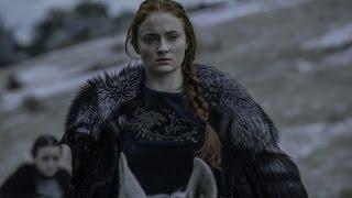 Sansa Stark // The red wolf