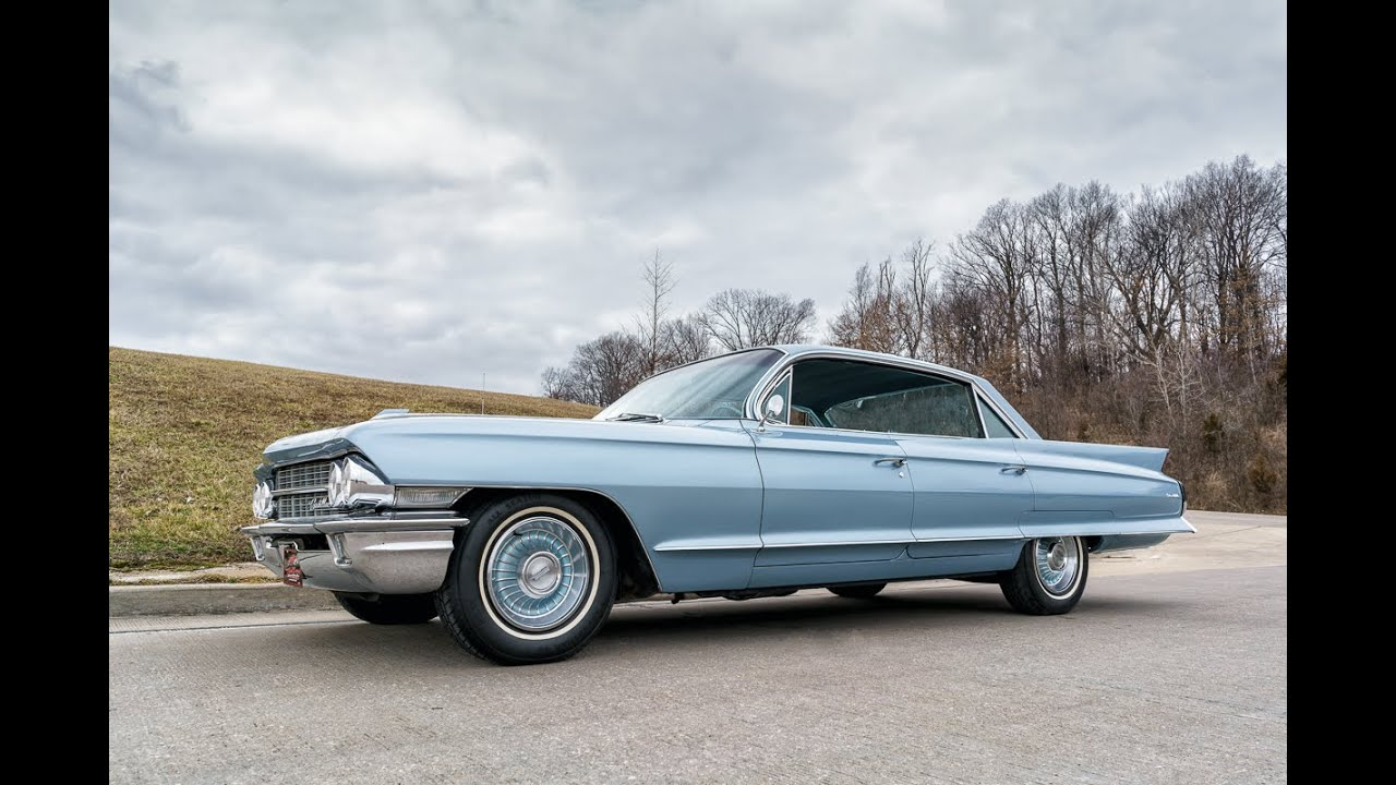 1962 Cadillac Deville Youtube
