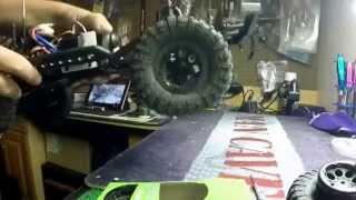 Axial scx10 dingo build part 8 paint & beadlock rims