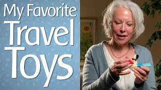 My Favorite Travel Toys | Best On-The-Go Toys to Keep Kids Engaged