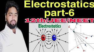 Electrostatics physics part-6 for Class-12th,JEE,NEET by Ashif Sohail compete study