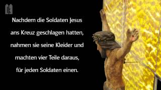 Karfreitag Joh 19, 13 - 42 (Kurzfassung)