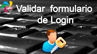 Validar formulario de Login con PHP