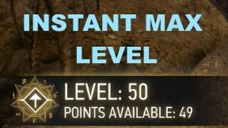 Witcher 3: INSTANT MAX LEVEL HACK/CHEAT for PC
