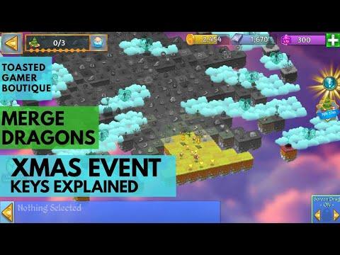Merge Dragons Christmas Event 2020 Merge Dragons Christmas Event Mystic Keys Explained At Start   YouTube